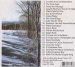 Christmas CD back cover
